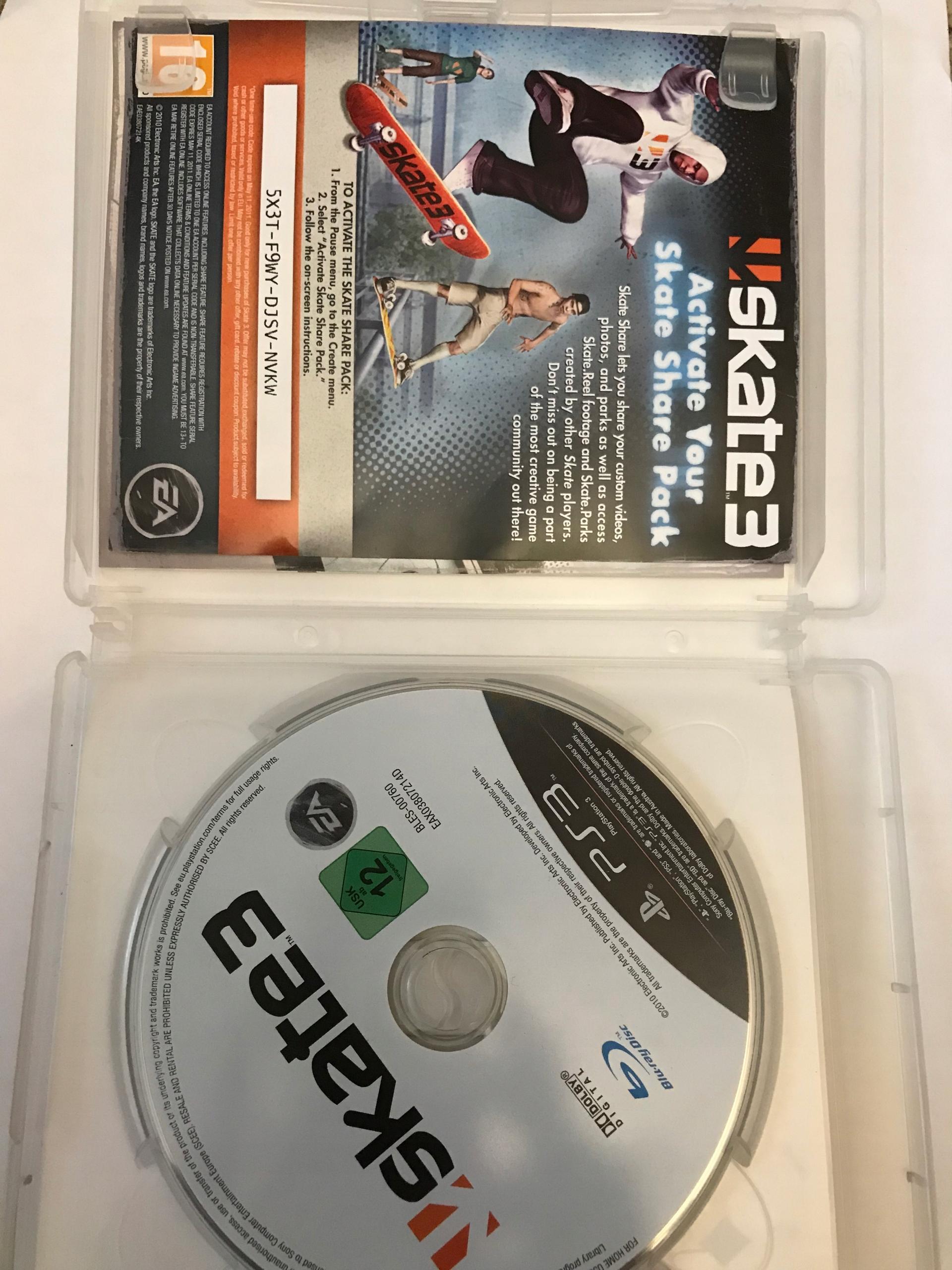 Skate 3 gra PS3 + DLC Skate Share Park - 7729357536