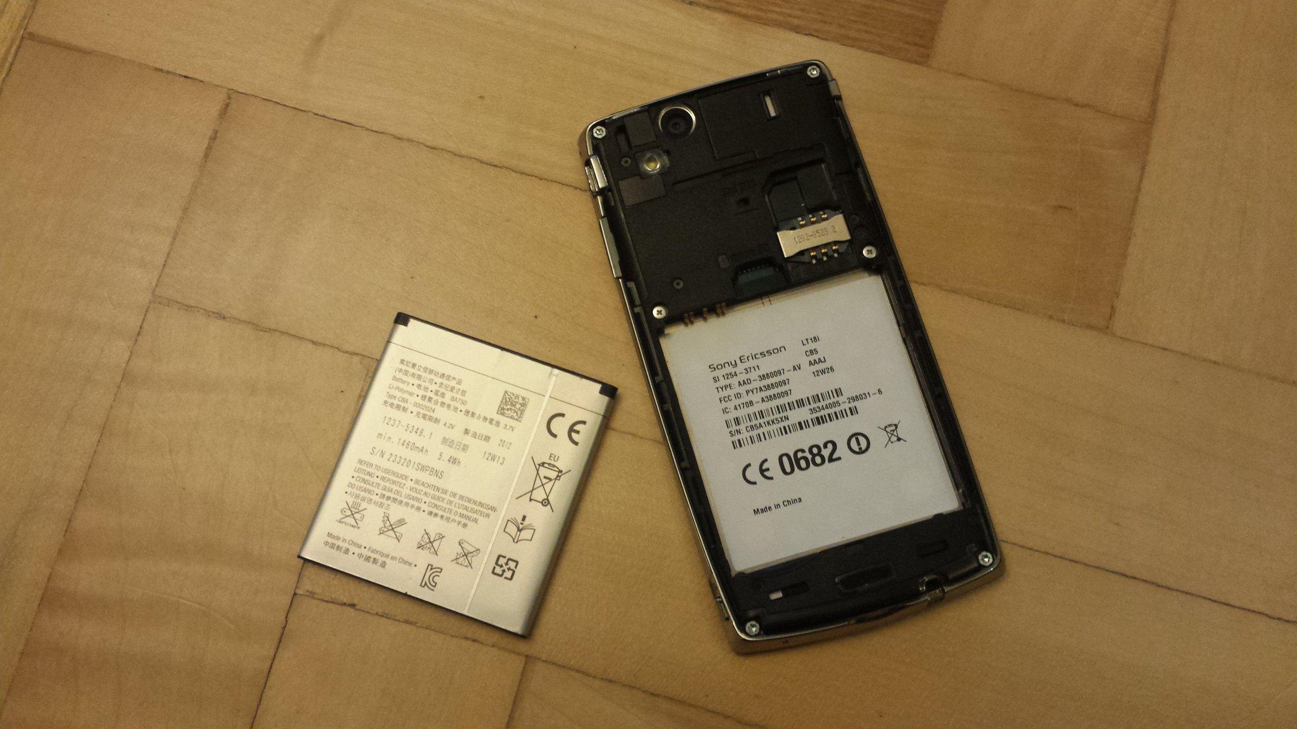 SONY Ericsson XPERIA ARC S LT18i (7124056056)