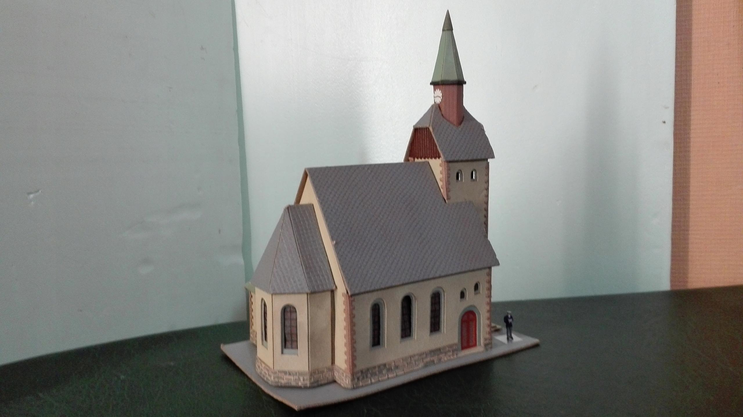 Stary kościół - H0 1:87