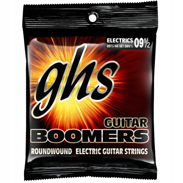 Struny GHS Boomers Roundwound (9,5-44) Ex. Light+