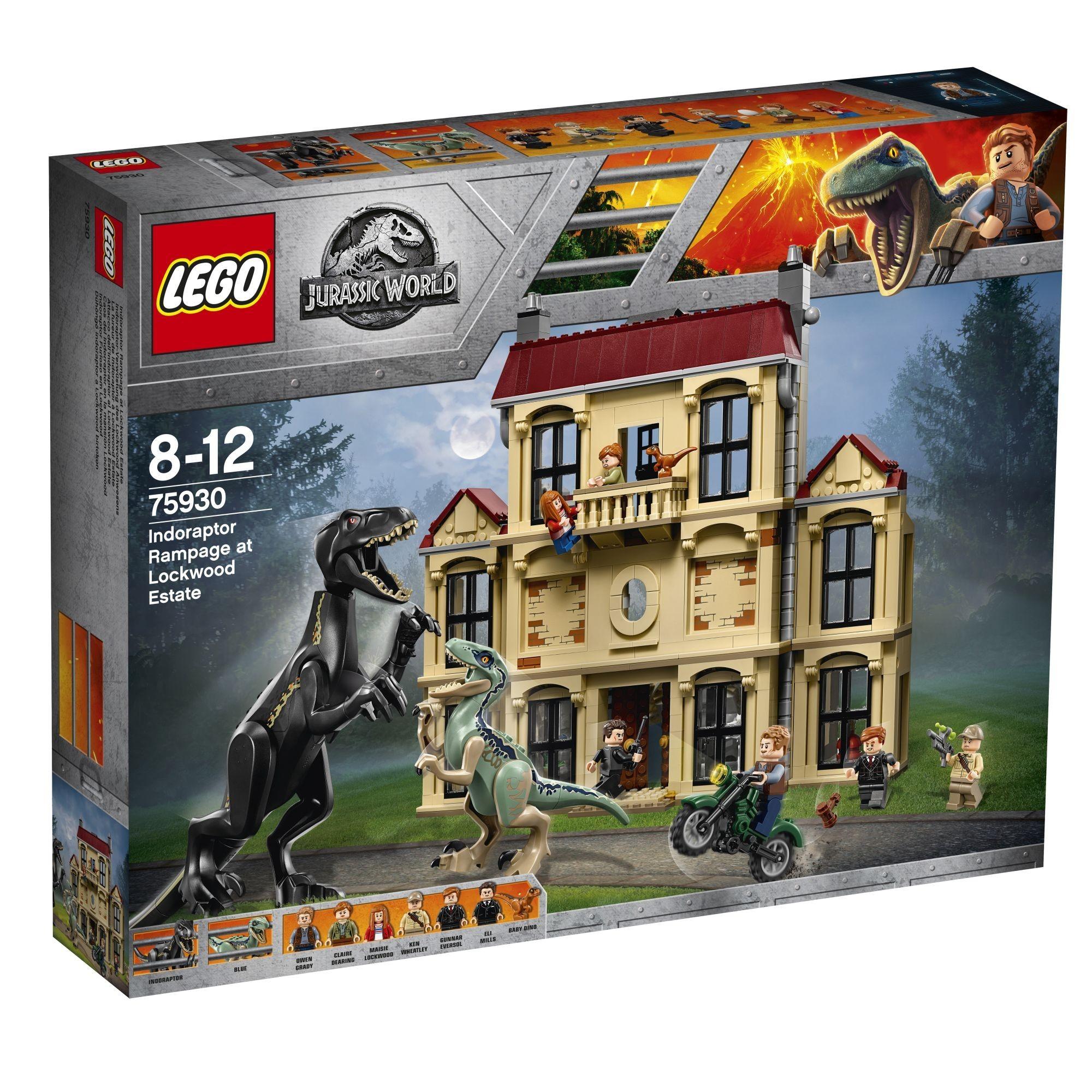 Lego Dinozaury 75930 Atak Indoraptora Jurassic 7394771479