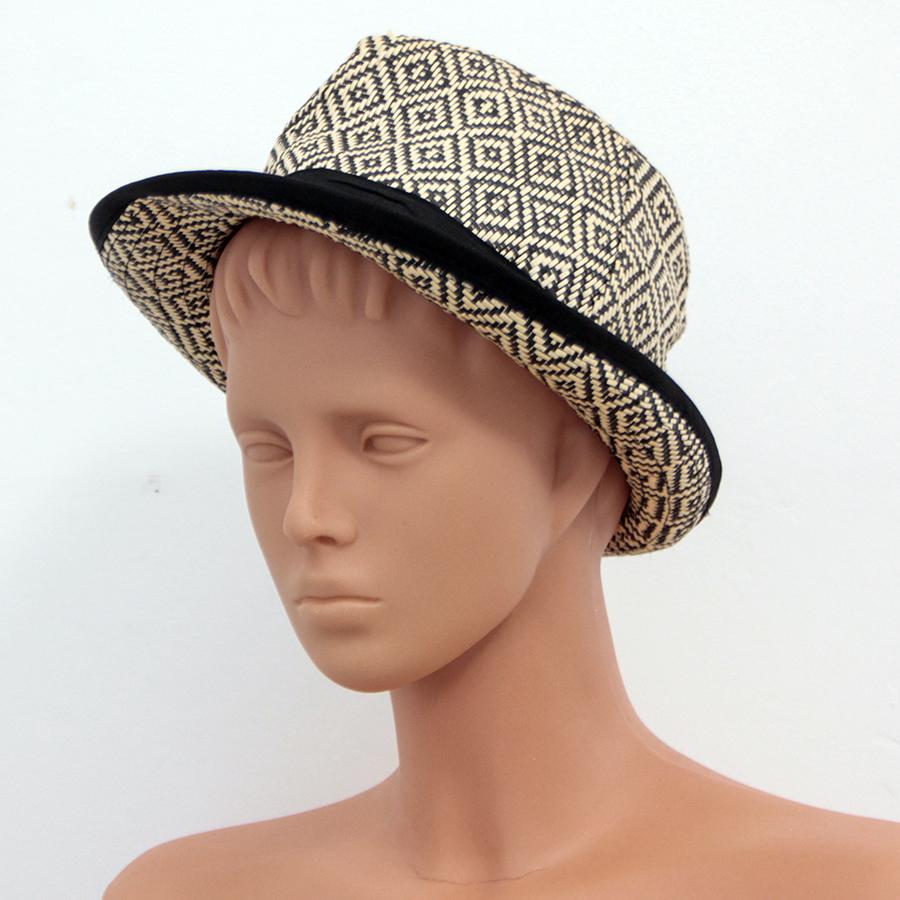 RESERVED kapelusz wiklina fedora kanotier trilby