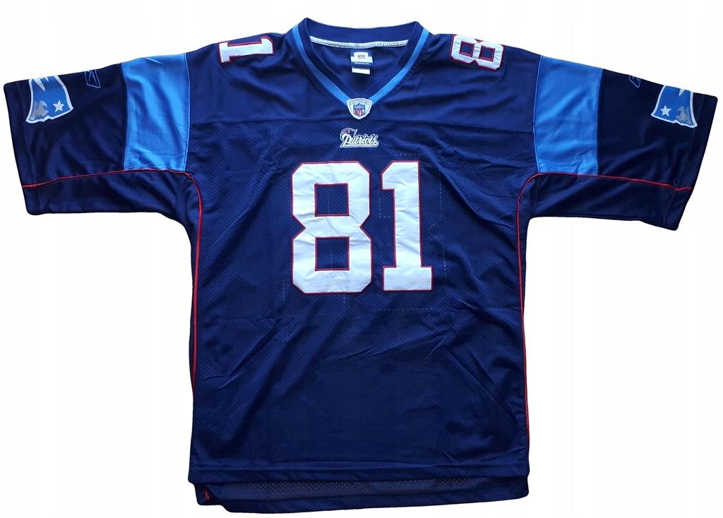 check out cfa90 1dc4b Reebok New England Patriots 3XL/4XL jersey NFL