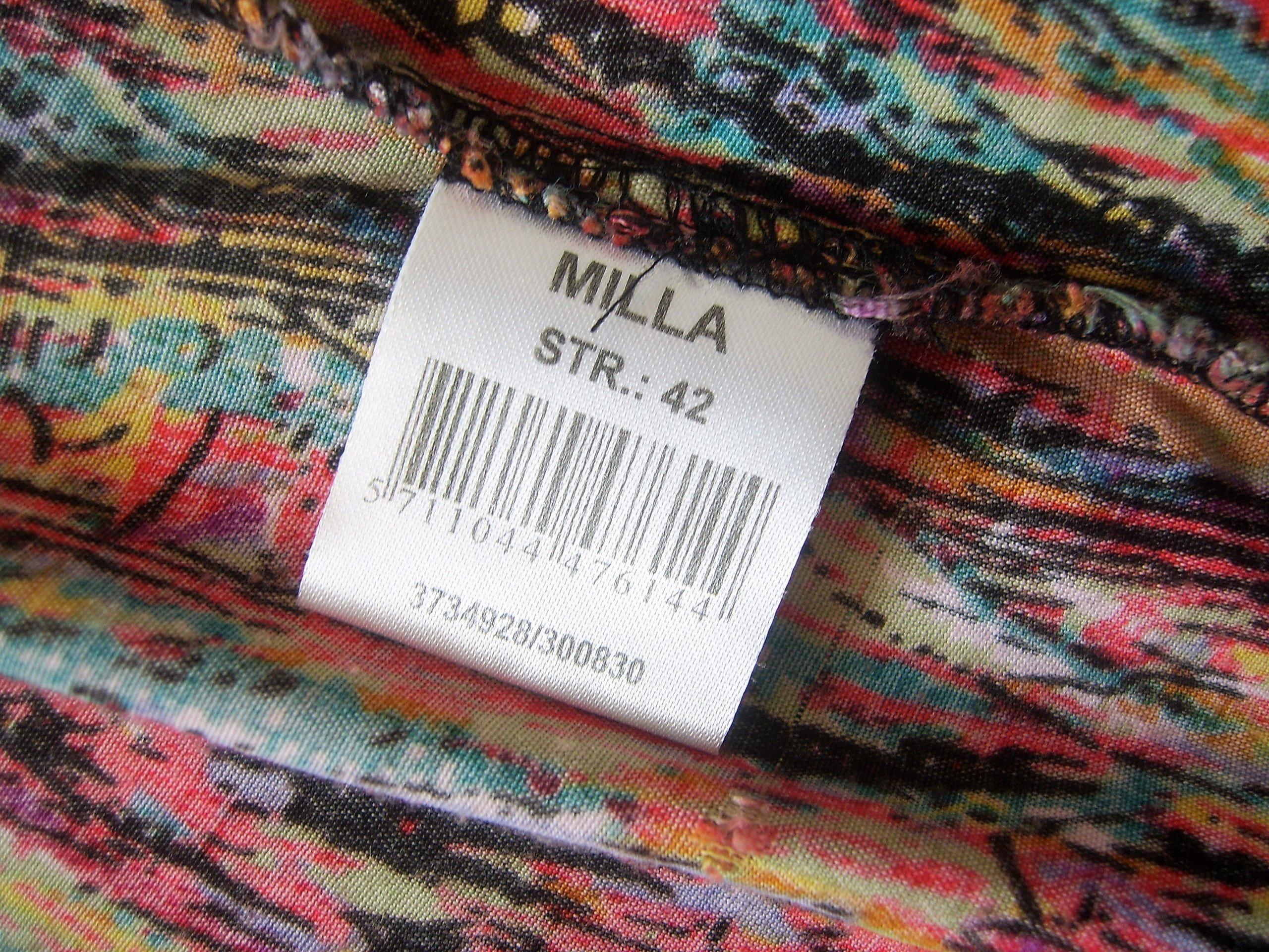 122f5b3944 SUKIENKA letnia kolorowa MILLA 42   XL - 7350106171 - oficjalne ...