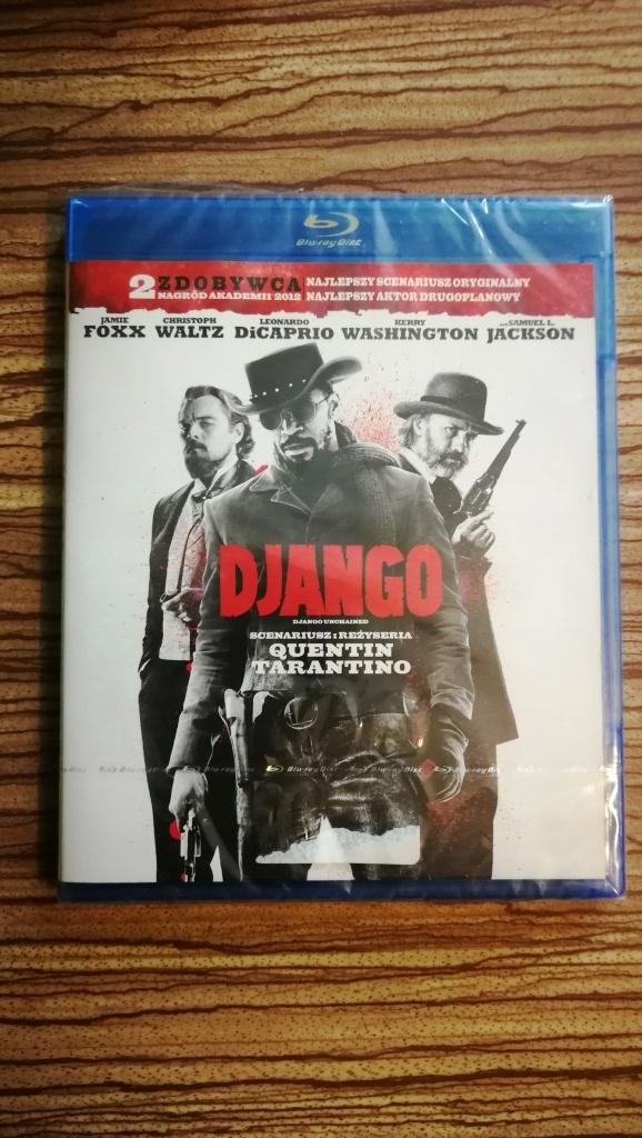 DJANGO (BLU-RAY) Quentin Tarantino Lektor NapisyPL