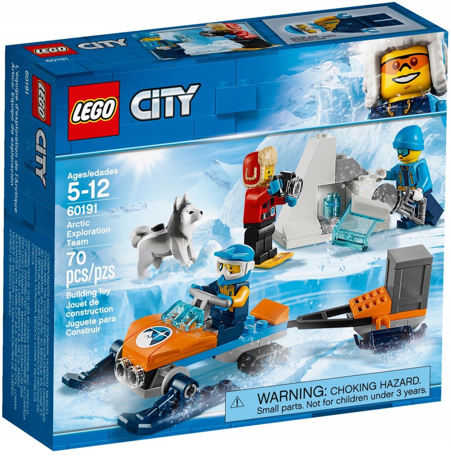 Lego City Arktyczny Zespół Badawczy 60191 7334067999 Oficjalne