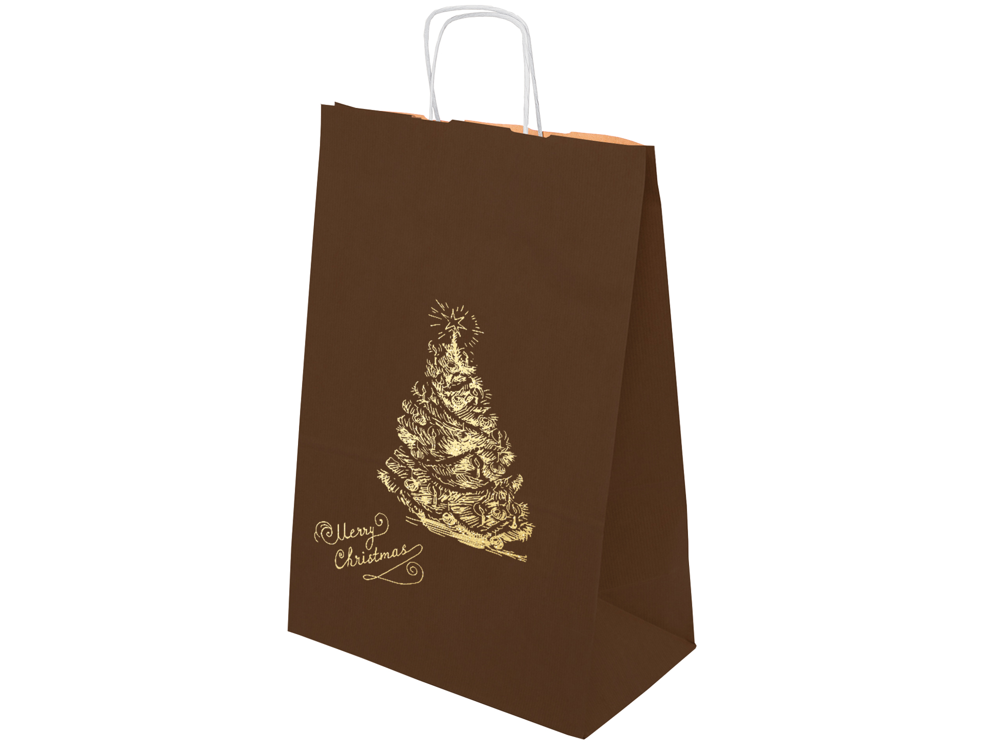 484d4a6cb81a7 Torby torebki świąteczne papierowe 30x17x44cm 10sz - 7644546179 ...