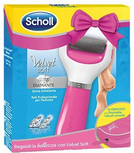 Scholl Velvet Soft pilnik do stóp różowy (A)