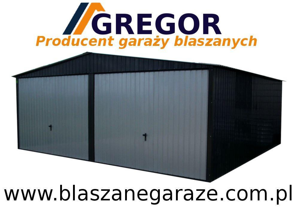Garaż Blaszany Garaże Blaszane 6x5 Mazowieckie 7435827227