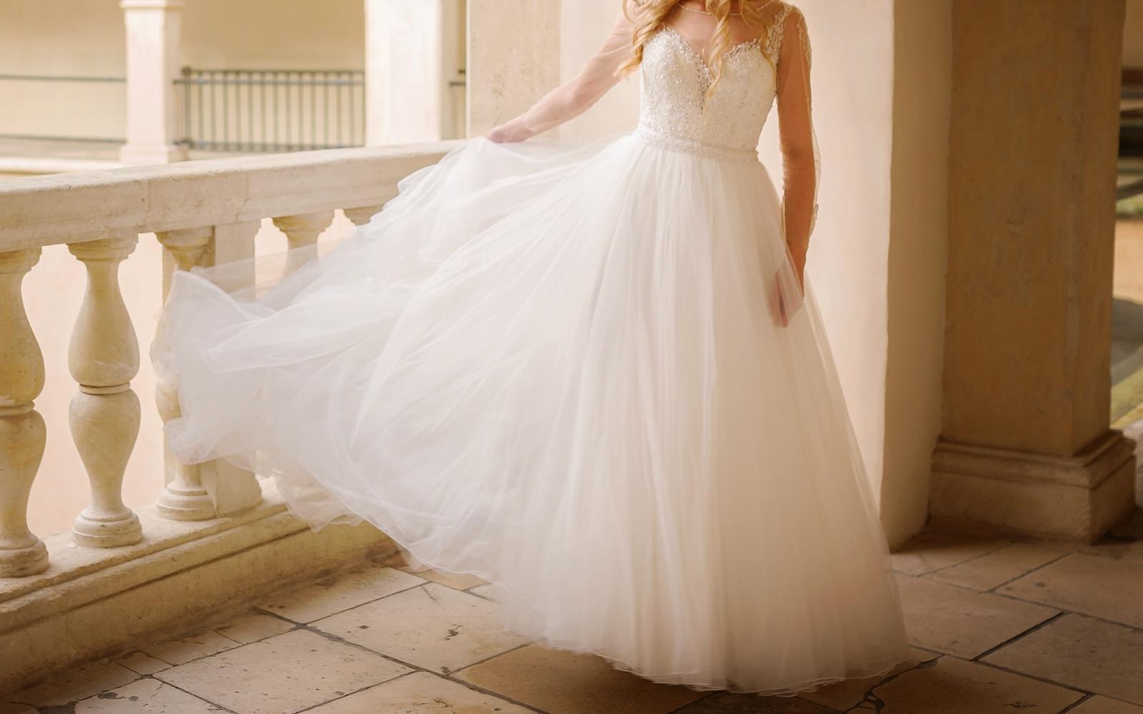 cadfe23a33 Suknia ślubna Justin Alexander wyjątkowy model - 7647289835 ...