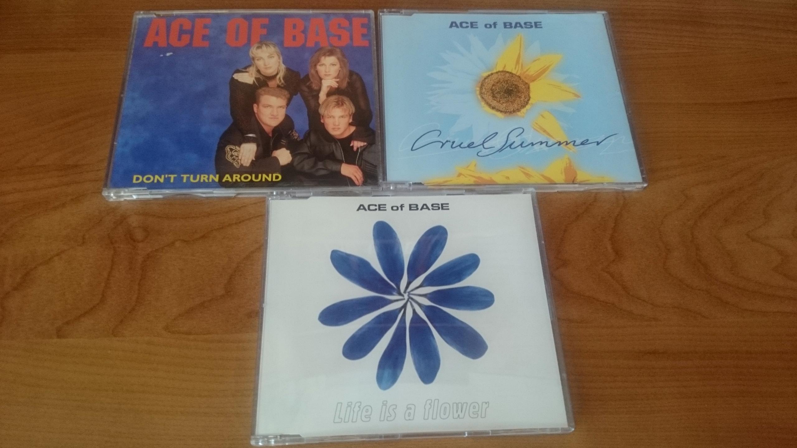 [3CD] 3 SINGLE ACE OF BASE CRUEL SUMMER FLOWERS !