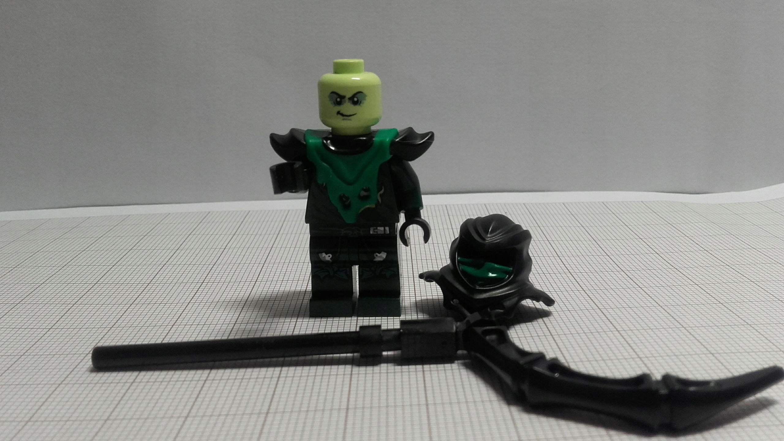 Lego Ninjago Evil Green Ninja Njo154 70736 7656292264