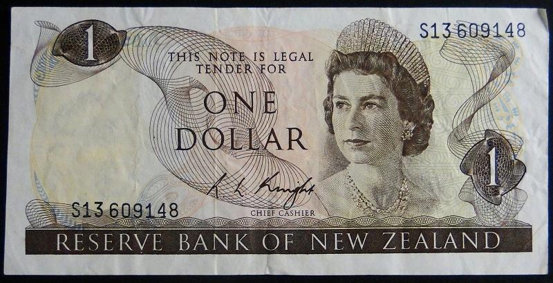 1976 New Zeland Elżbieta II - 1 dolar