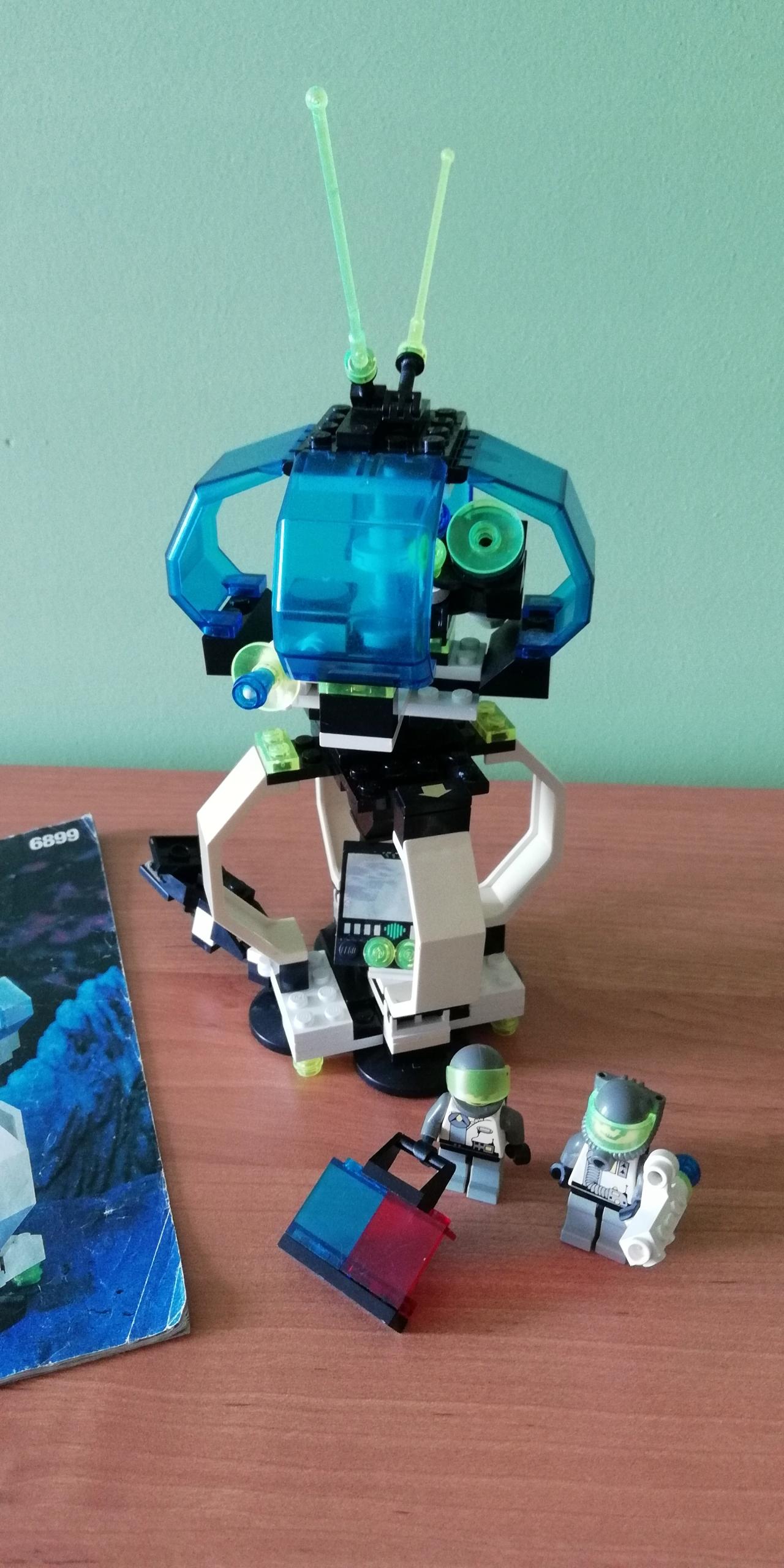 Lego 6899 Nebula Outpost Instrukcja 7549600375 Oficjalne