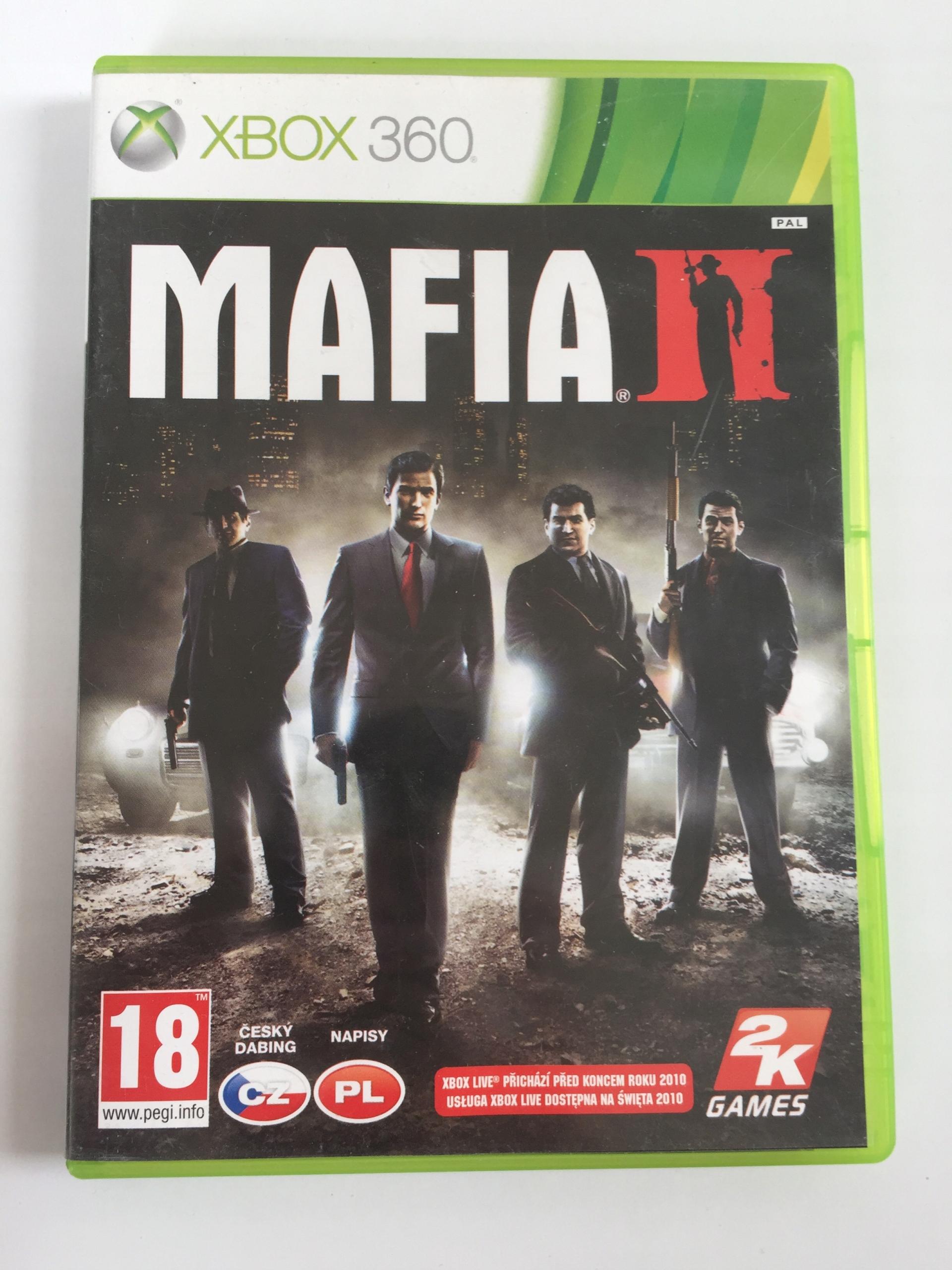 MAFIA II PL + MAPA IDEAŁ/BDB XBOX 360 2 SKLEP AHS