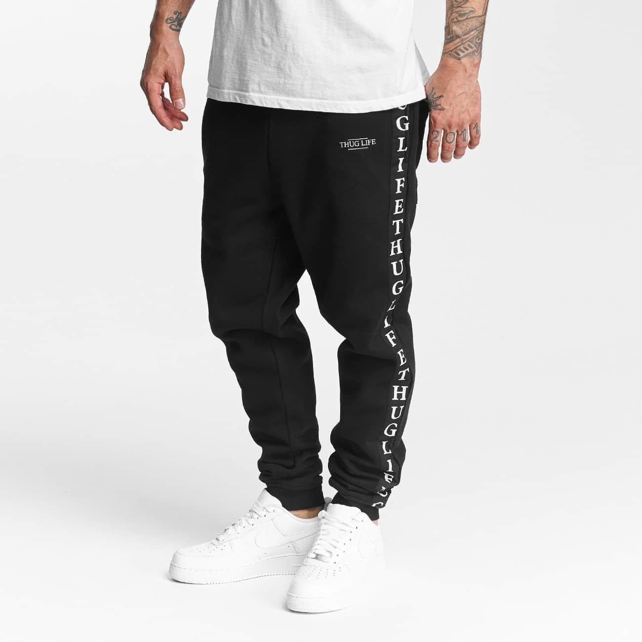 Spodnie dresowe Thug Life Wired in black 2XL