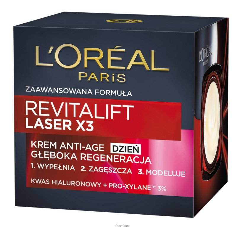 Loreal Revitalift Laser X3 Krem na dzień 50 ml.