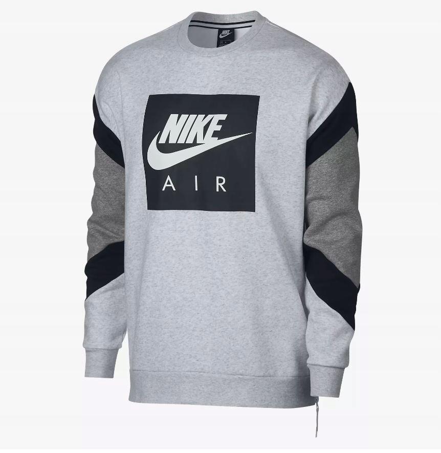 f5fb055f5 Bluza Męska Nike AIR Crew Fleece 928635-051 -L - 7547528136 ...