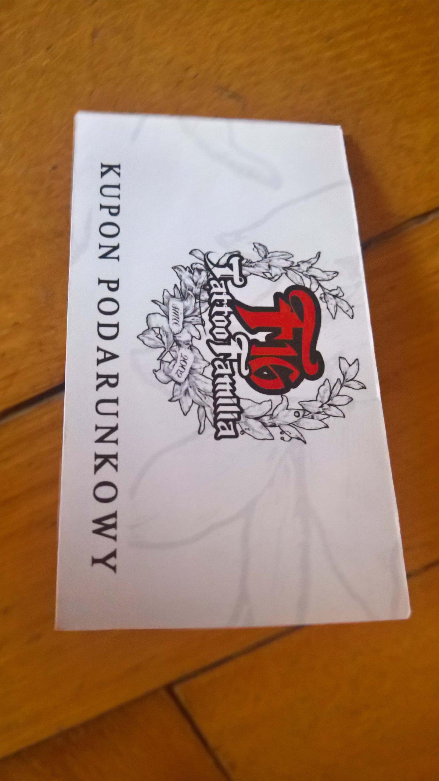 Voucher Tatuaż Wart 300zł 7342974095 Oficjalne Archiwum
