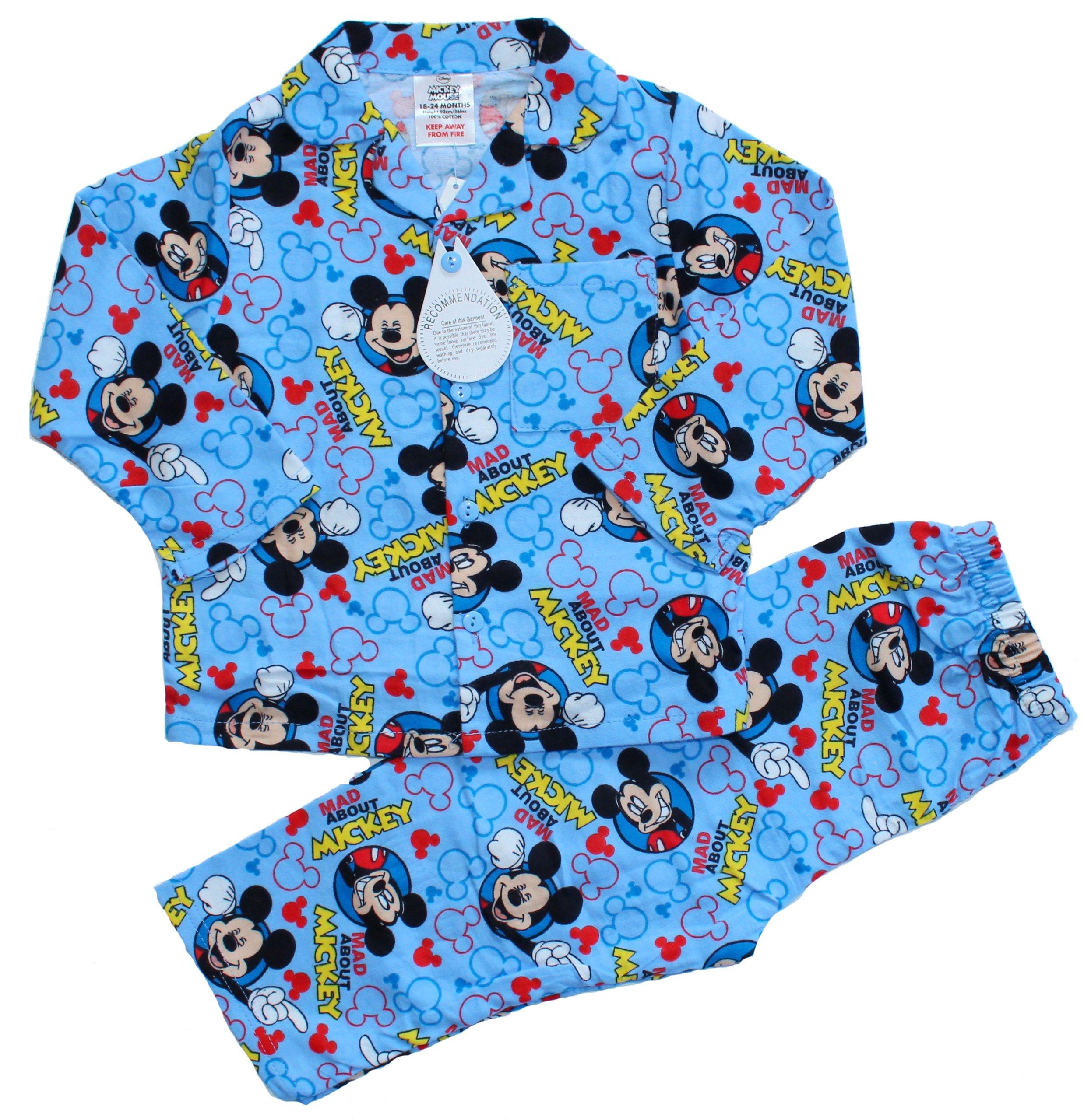 Najnowsze MYSZKA MICKEY ciepła piżama flanelowa flanela 92 - 7011245753 RD67