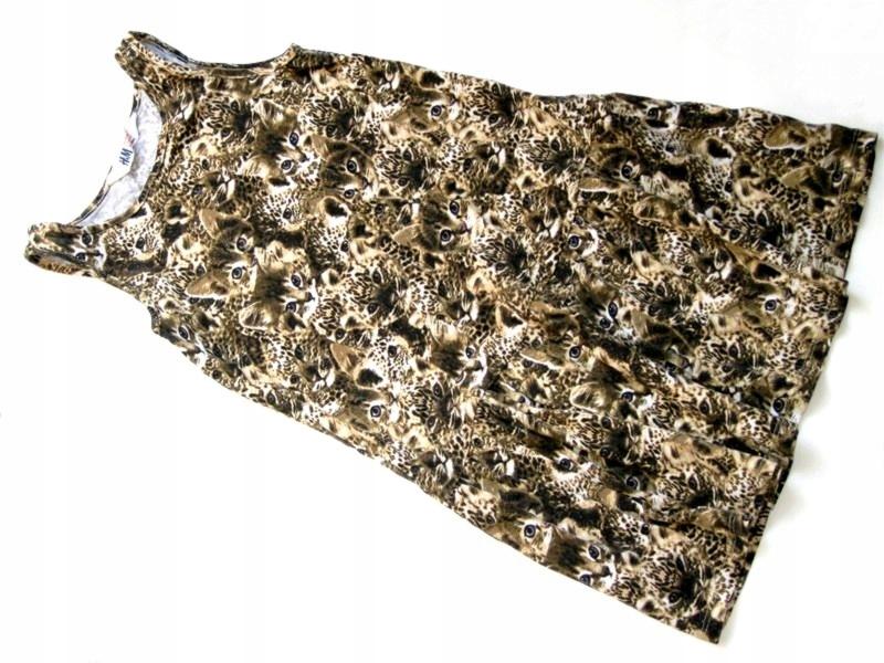 05edf10b99 HM sukienka tunika mega kotki tygryski     110 116 - 7440334049 ...