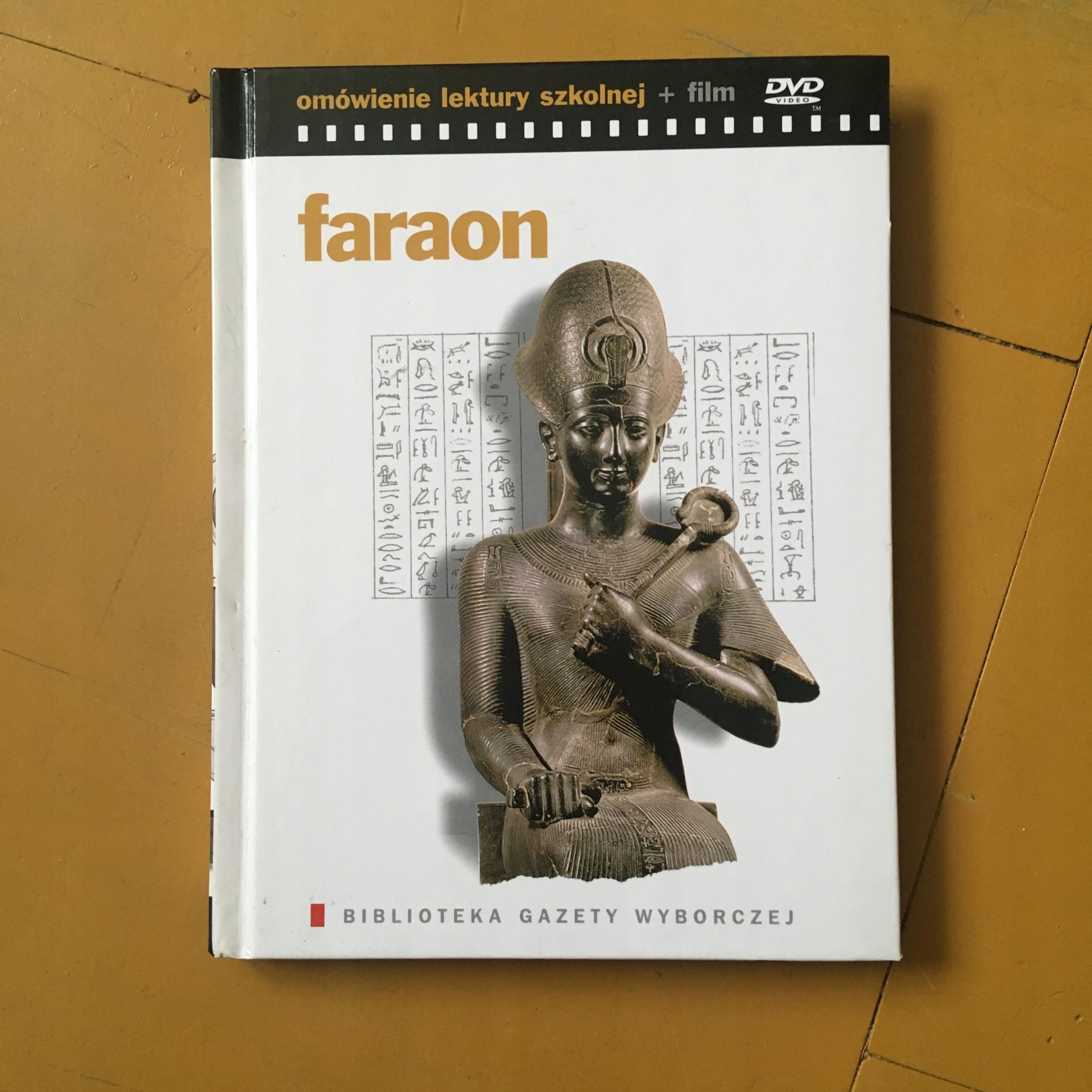 DVD - FARAON - GAZETA WYBORCZA - BCM $$$