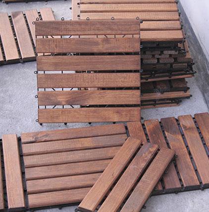Drewniane Płytki Balkonowe Tarasowe 7426320453