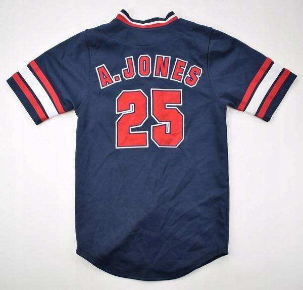 ATLANTA BRAVES *A. JONES* MLB TRUE FAN KOSZULKA S