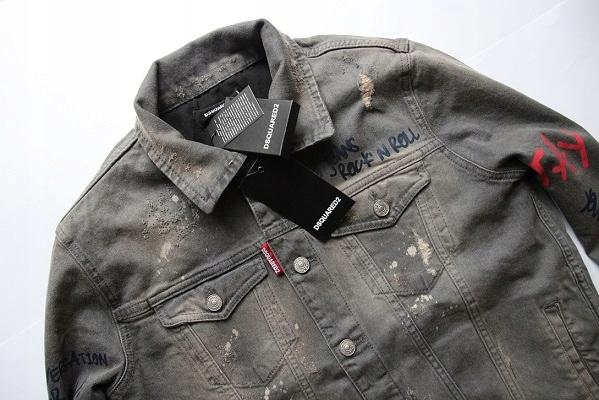 fb2d52123a885 kurtka jeansowa - DSQUARED 2 -M / L 44 -GUCCI, CK - 7461241158 ...