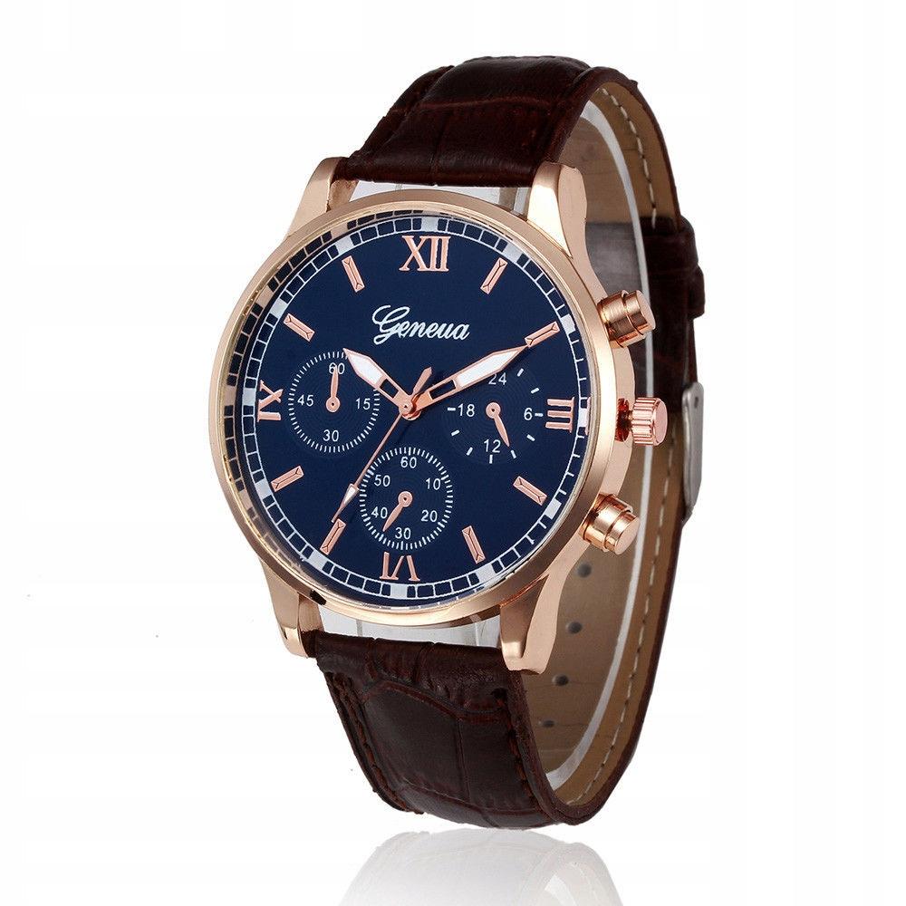 Modny nowoczesny zegarek Męski Geneva