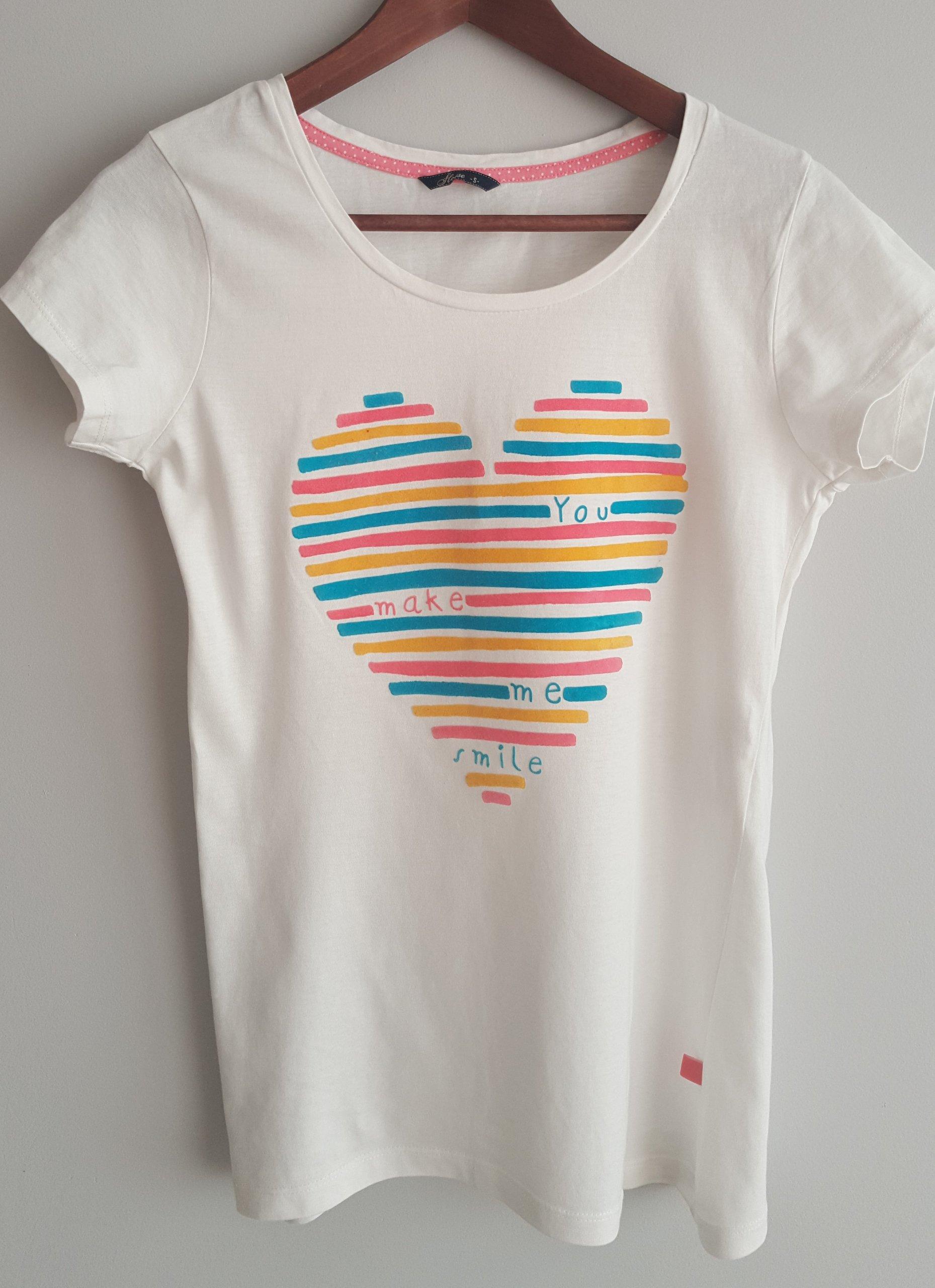 HOUSE t shirt z nadrukiem r. 36 S jak Zara 7013919503