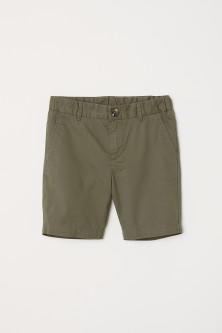 H&M szorty chłopięce spodenki chinosy khaki 92