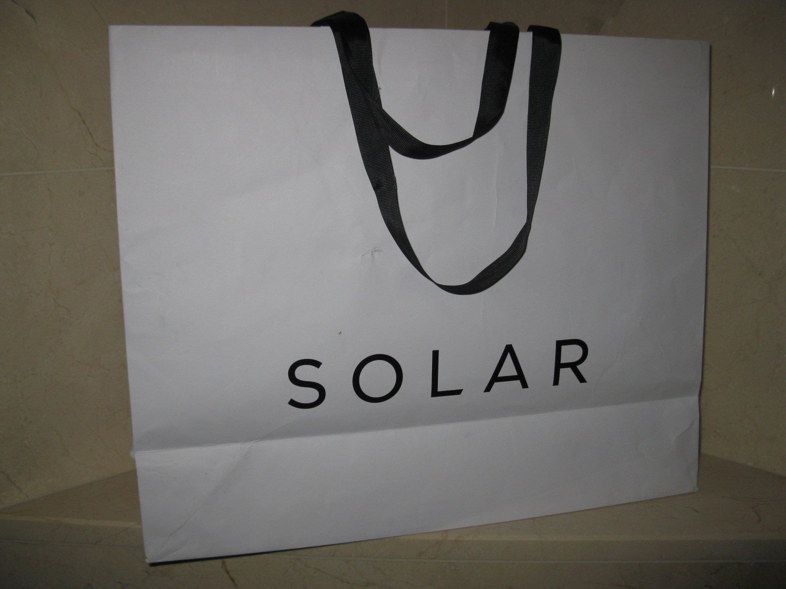 b380b380b37e3 SOLAR torba papierowa XL - 7304675269 - oficjalne archiwum allegro