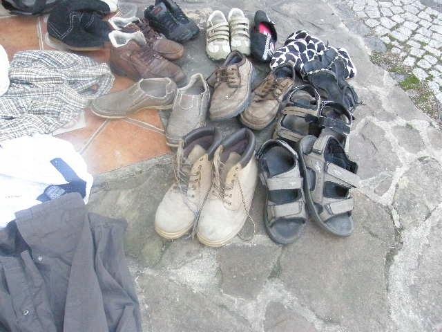 Komplet koszyl 9 szt oraz buty meskie 44 damskie