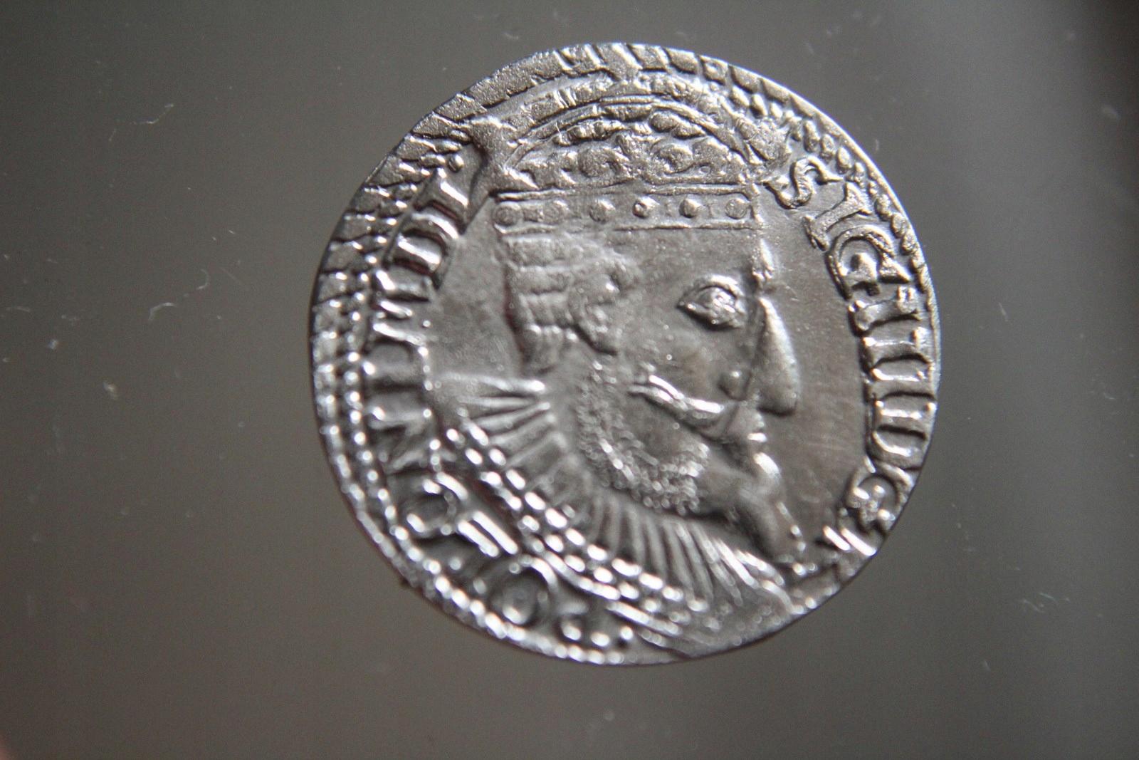 TROJAK ZYGMUNT III WAZA 1598 R.SREBRO -XX0026