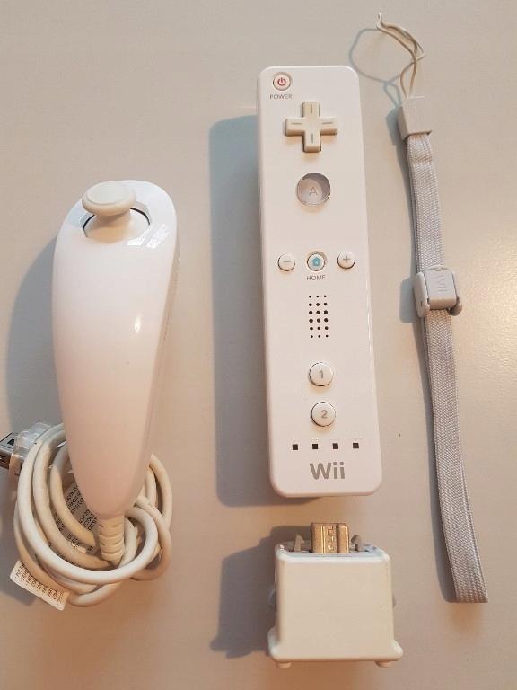 Kontroler Wii Wiilot Remote Nunchuck Motion Plus