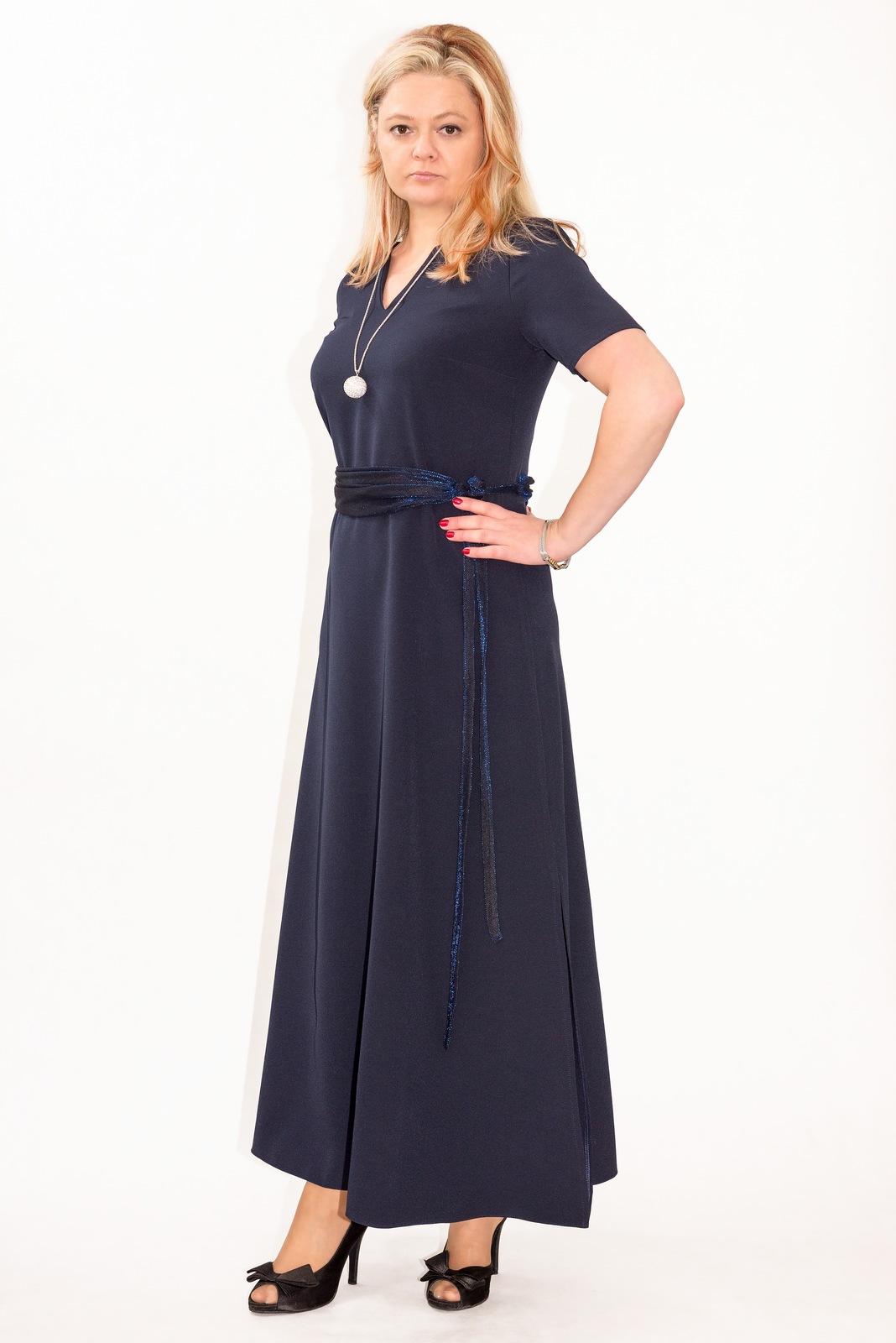 3d53a34149 Sukienka plus size r.52 KOMUNIA