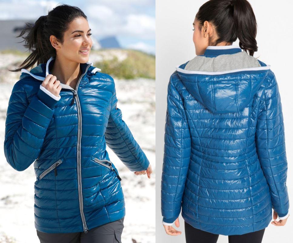 b.p.c niebieska kurtka damska