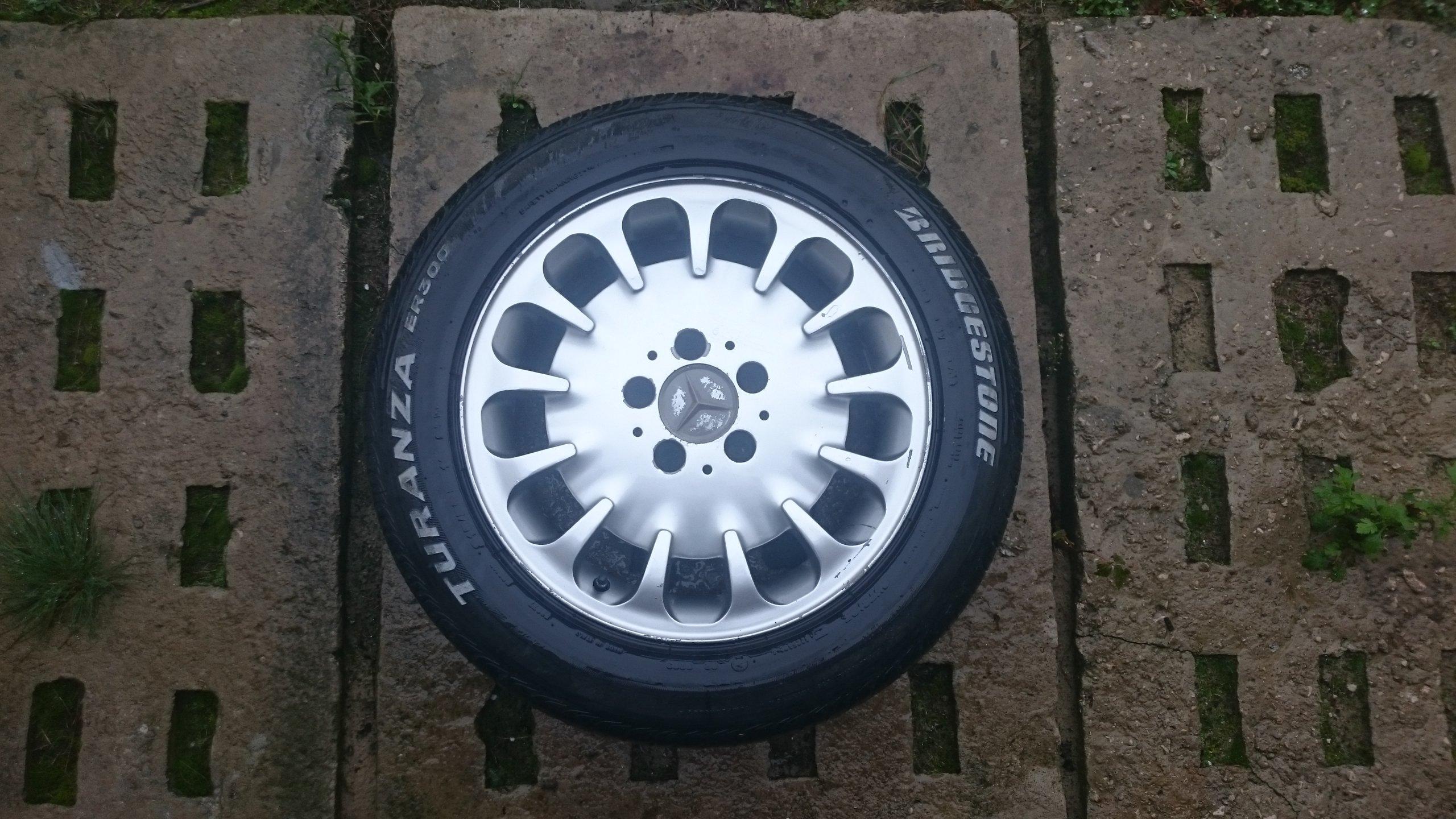 Felgi Aluminiowe Z Oponami Mercedes W202 W210 W124 7229623670
