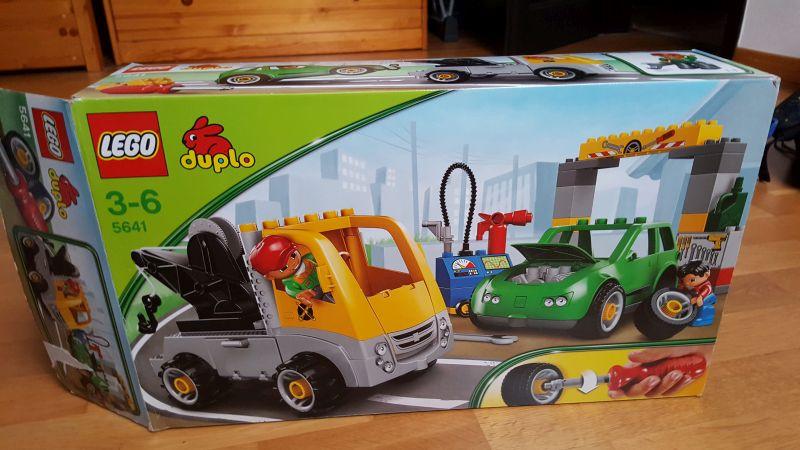 Lego Duplo 5641 Warsztat Samochodowy 7273542391 Oficjalne
