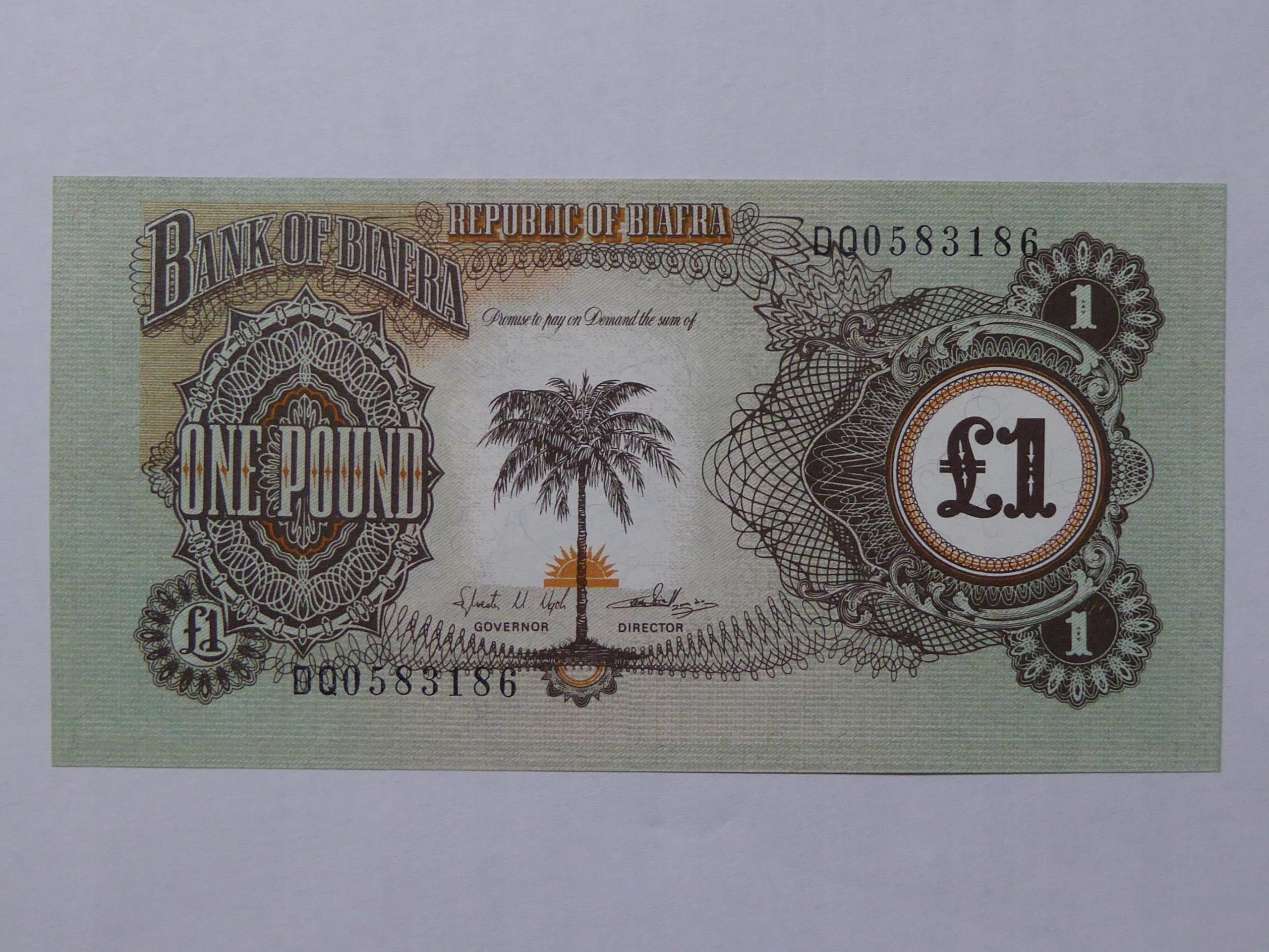 1 Funt Biafra - 130