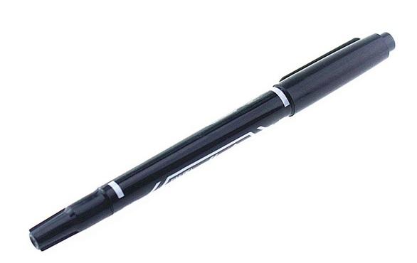 Marker do płytek PCB podwójny gr. 0,6mm i 1,0mm.