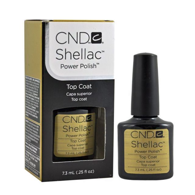 CND_C SHELLAC TOP COAT 7,3 ml