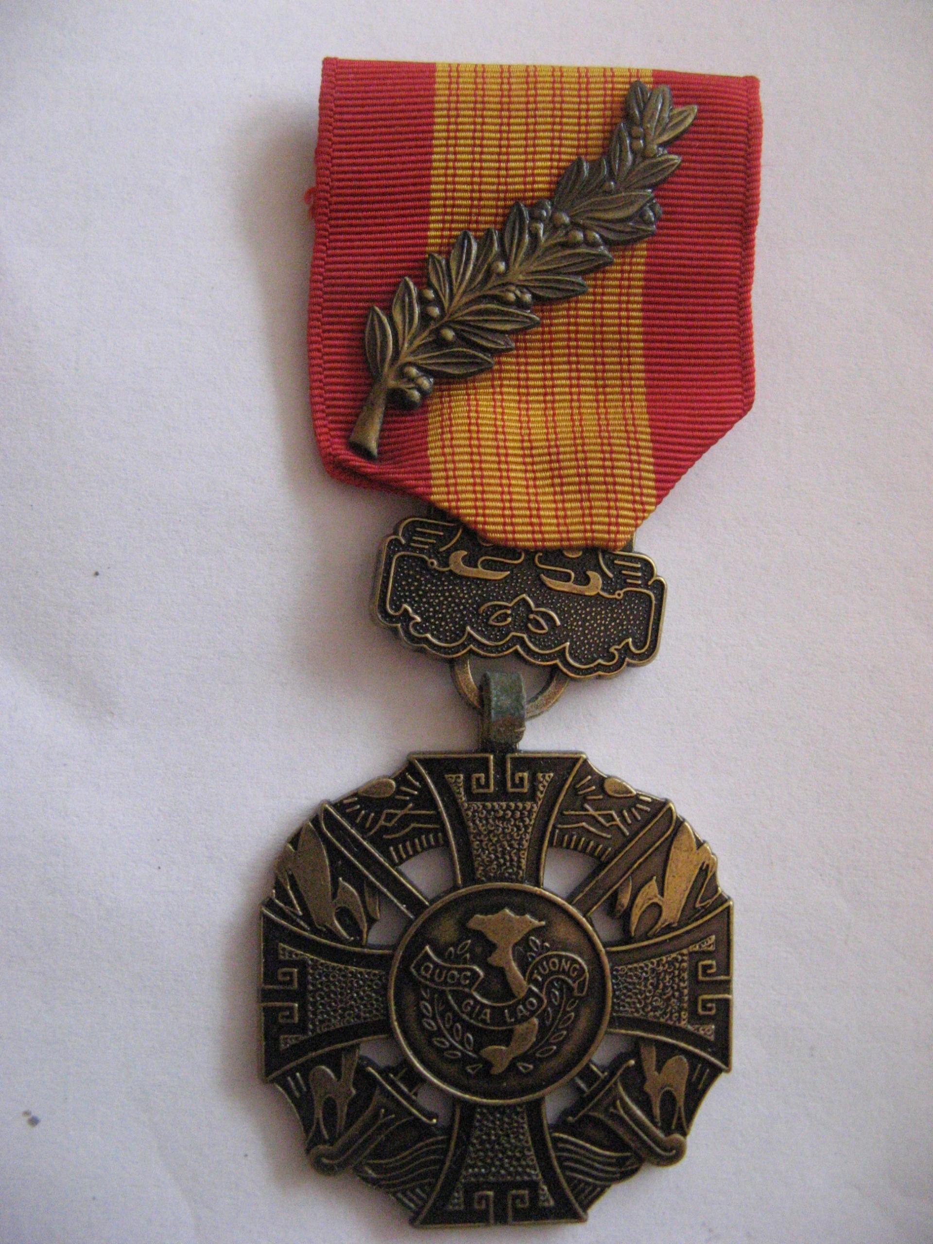 Odznaczenie Wietnam.Płd.Krzyż Walecznym z palmami