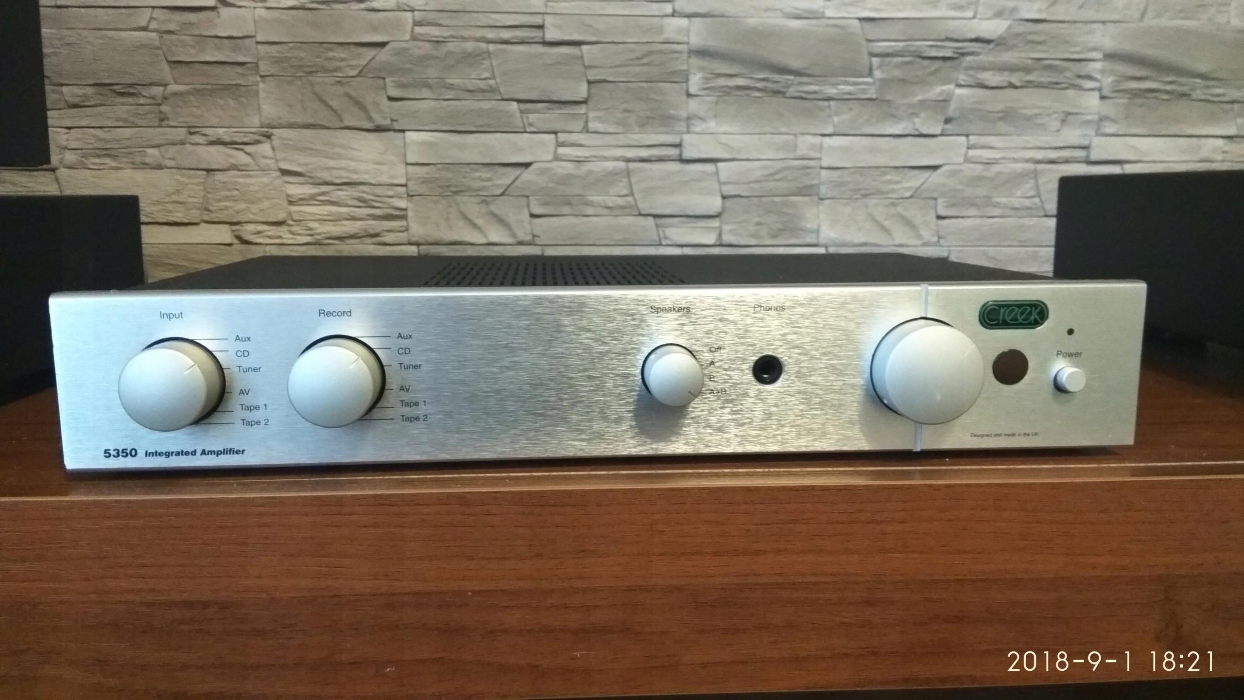 Creek 5350 audiofilski  Prawdziwy Hi-end! Idealny!