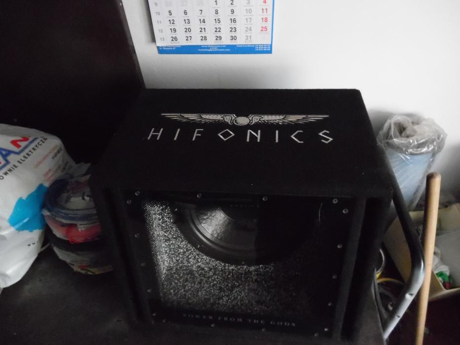 Skrzynia basowa subwoofer HIFONICS TITAN 400RMS - 7381862440