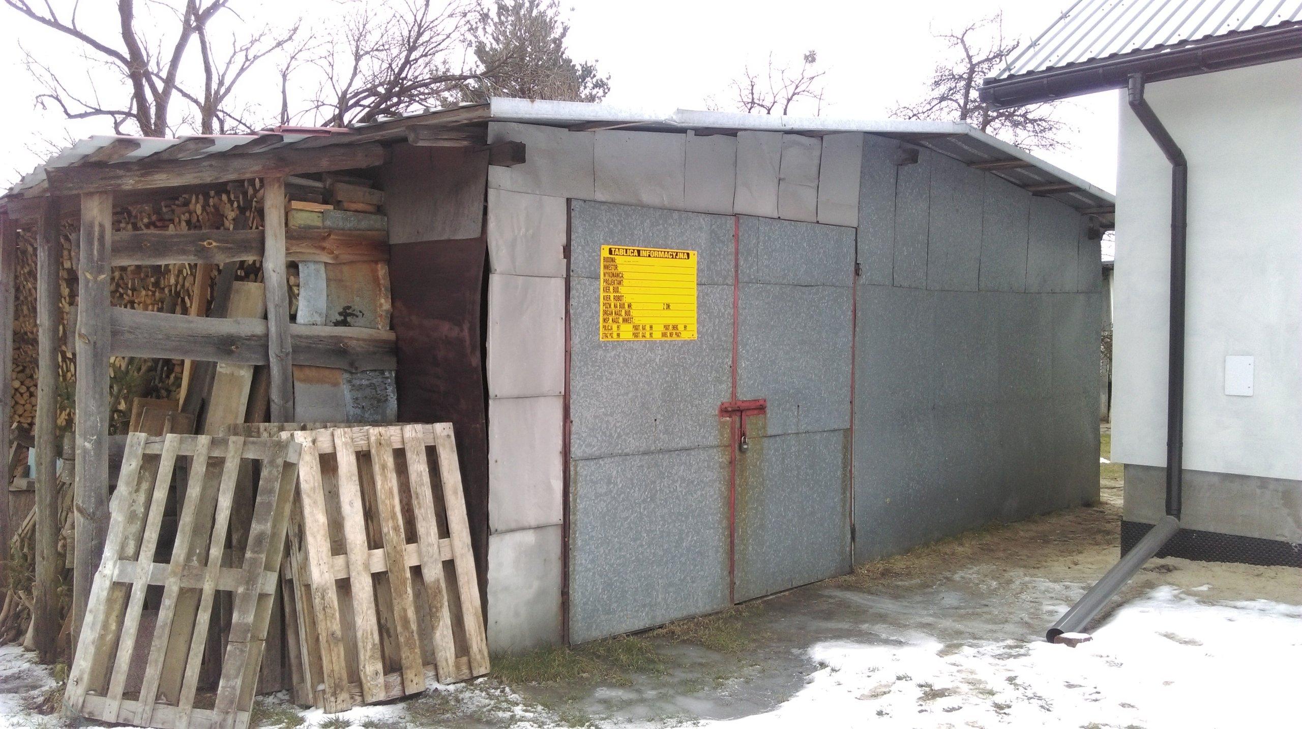 Nowość Garaż blaszak 5x7 m 2,5 m wysoki brama - 7269082651 - oficjalne TX21