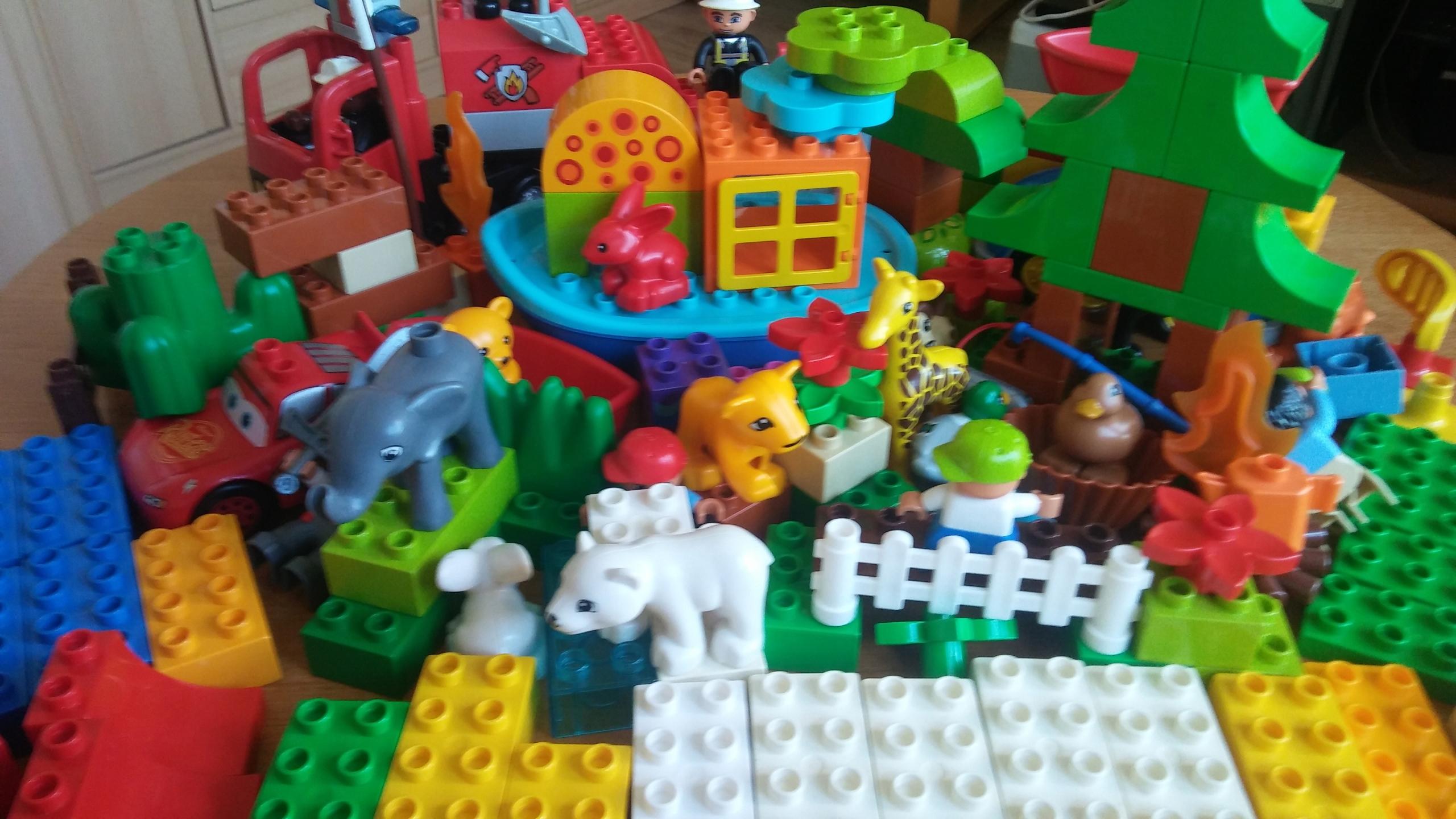 Lego Duplo Klocki Figurki Zwierzęta 7 W 1 7615756632 Oficjalne
