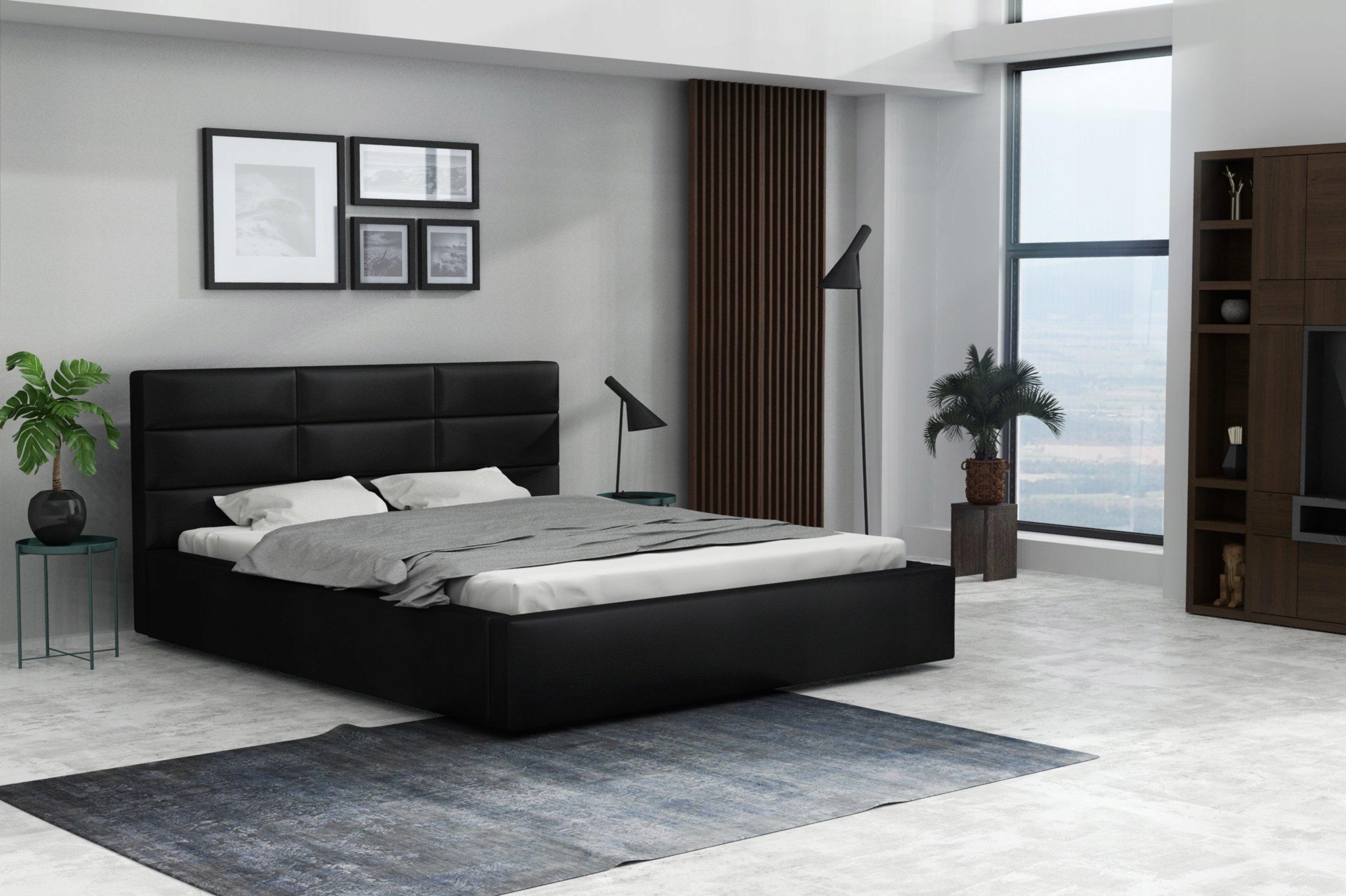 łóżko Tapicerowane Artus 140x200 Transport Gratis 7400412089