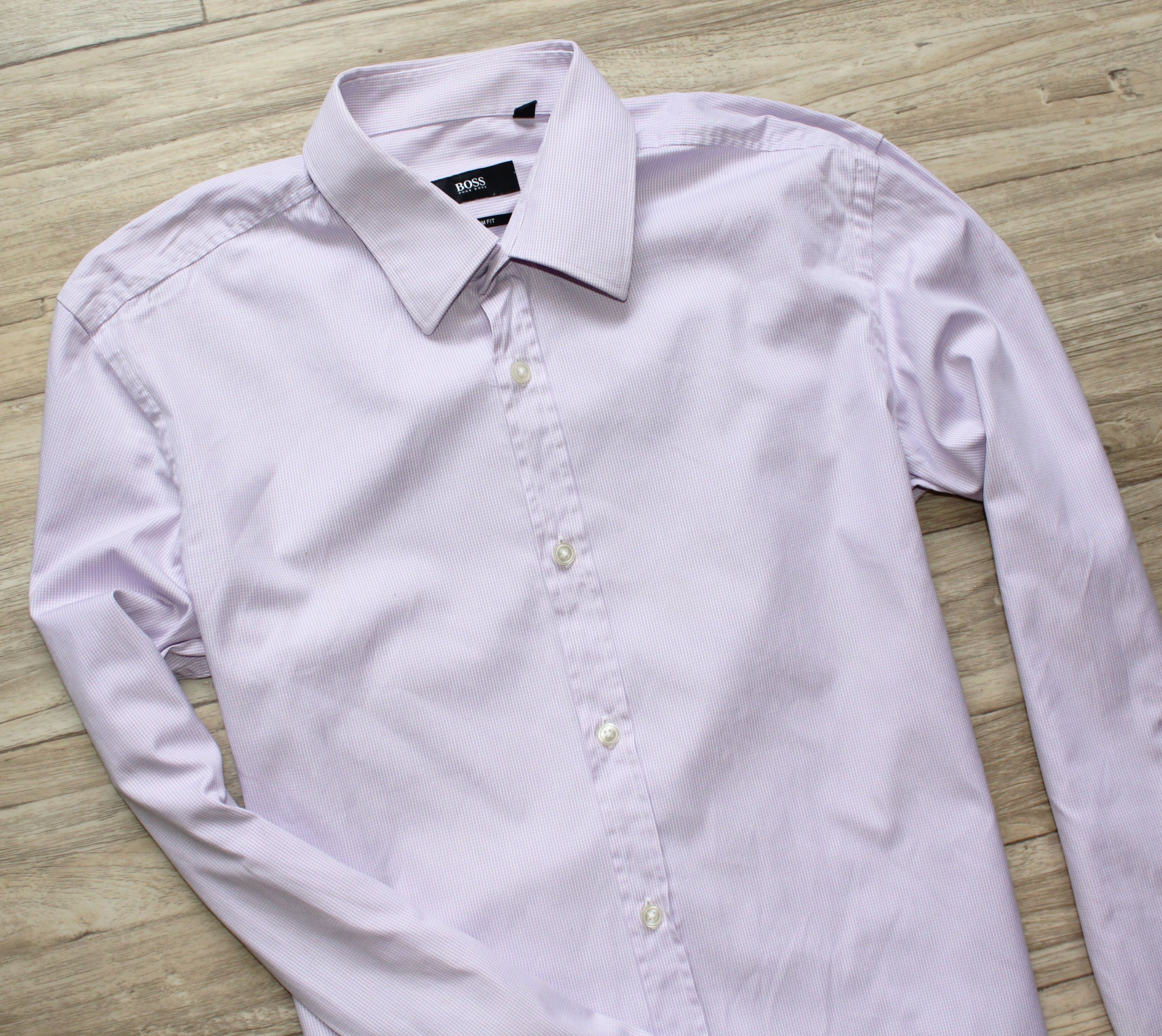 a6151ca41404d Koszula Hugo Boss 38 M slim fit oryginał - 7138147537 - oficjalne ...